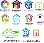 premium house  home  real... | Shutterstock .eps vector #1016610367