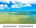 a photo of roebuck bay in... | Shutterstock . vector #1016632843