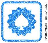 spades token grainy textured...   Shutterstock .eps vector #1016643337