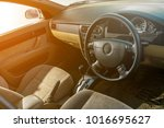 right hand drive auto gear on... | Shutterstock . vector #1016695627