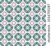seamless color pattern... | Shutterstock . vector #1016705287