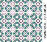 seamless color pattern... | Shutterstock . vector #1016705287
