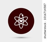 atom icon. simple magic element ... | Shutterstock .eps vector #1016714587
