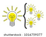 promoting skills  uniting... | Shutterstock .eps vector #1016759377