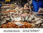 Venetian Fish Market. The...