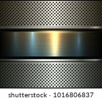 background metal design over... | Shutterstock .eps vector #1016806837