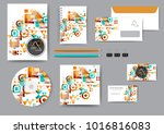 abstract corporate identity... | Shutterstock .eps vector #1016816083