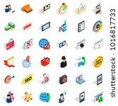 wireless telecom icons set....   Shutterstock .eps vector #1016817733