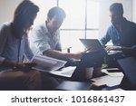concept of presentation new...   Shutterstock . vector #1016861437