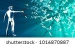 generate revenue profits and... | Shutterstock . vector #1016870887