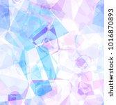 colorful watercolor gem pattern ...   Shutterstock . vector #1016870893