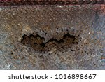 the iron rusted up  steel rusty ...   Shutterstock . vector #1016898667