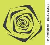 rose. vector flower. beautiful...   Shutterstock .eps vector #1016916517