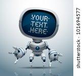 vector banner robot 11   Shutterstock .eps vector #101694577