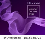 ultra violet pantone color of... | Shutterstock .eps vector #1016950723