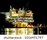 stord  norway dec.15 2017 ... | Shutterstock . vector #1016951797