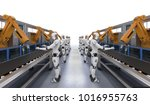 3d rendering robot assembly... | Shutterstock . vector #1016955763