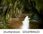 natural view of small canyon... | Shutterstock . vector #1016984623