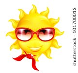 fun sun  bitmap copy | Shutterstock . vector #101700013