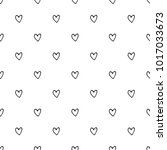 seamless pattern with hand...   Shutterstock .eps vector #1017033673