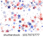 usa president day stars flying... | Shutterstock .eps vector #1017073777