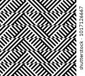 seamless pattern with striped... | Shutterstock .eps vector #1017126667