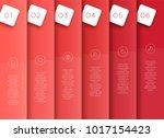 vector 3d red vertical text...   Shutterstock .eps vector #1017154423