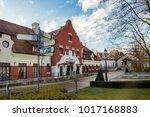 wieliczka  poland   jan 04 ... | Shutterstock . vector #1017168883