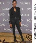 Small photo of Christine Adams attend the 6th annual SCAD aTV Fest 2018 on February 3rd, 2018 at the Four Season Hotel Atlanta in Atlanta Georgia - USA