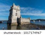 portugal little tower | Shutterstock . vector #1017174967