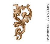 classical baroque vector of... | Shutterstock .eps vector #1017175393