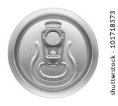 beer can on white background ... | Shutterstock . vector #101718373