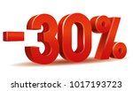 vector of  30 percent in white...   Shutterstock .eps vector #1017193723
