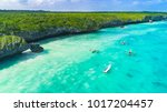 aerial. seascape  zanzibar ... | Shutterstock . vector #1017204457