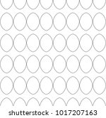seamless vector pattern in... | Shutterstock .eps vector #1017207163