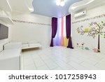 interior children's room...   Shutterstock . vector #1017258943