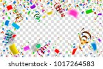celebration. bright colorful... | Shutterstock .eps vector #1017264583