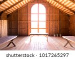 Wooden Barn Hall For Rustic...