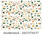 vector illustration. set of... | Shutterstock .eps vector #1017274177