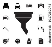 funnel filter icon. set of car... | Shutterstock .eps vector #1017282073