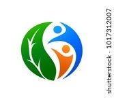 health care logo | Shutterstock .eps vector #1017312007