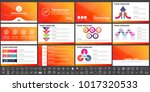 modern elements of infographics ... | Shutterstock .eps vector #1017320533