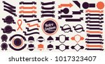 vintage retro vector logo for... | Shutterstock .eps vector #1017323407
