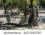 new york  usa   september 10 ... | Shutterstock . vector #1017342787