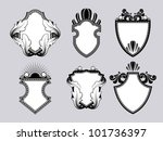 shield crest | Shutterstock .eps vector #101736397