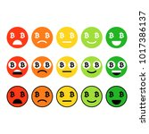 bitcoin emoji  emoticons or...   Shutterstock .eps vector #1017386137