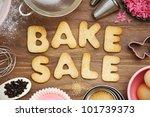 bake sale cookies | Shutterstock . vector #101739373