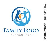 family and family love  health...   Shutterstock .eps vector #1017398167