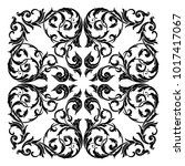 classical baroque vector of... | Shutterstock .eps vector #1017417067