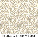 the geometric pattern with wavy ... | Shutterstock .eps vector #1017445813